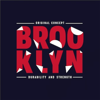 Brooklyn - typografia