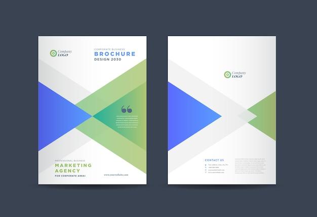 Broszura biznesowa projekt okładki | raport roczny i pokrycie profilu firmy | broszura i okładka katalogu