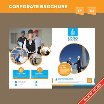 Broszura dotycząca nowoczesnej konserwacji i usług budowlanych