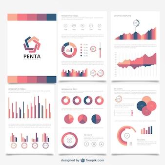 Broszura infografika