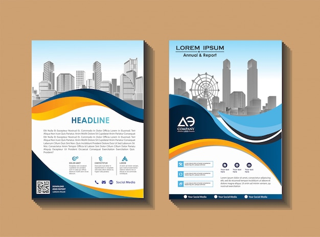 Broszura katalog okładek katalog magazynów do raportu rocznego