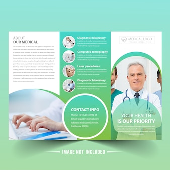 Broszura medyczna trifold