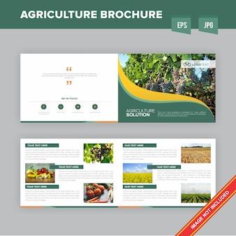 Broszura profesjonalnej firmy rolniczej