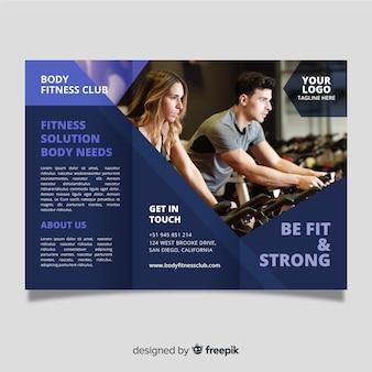 Broszura rozdania w siłowni