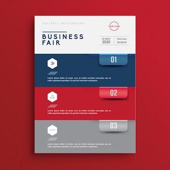 Broszura szablon biznes