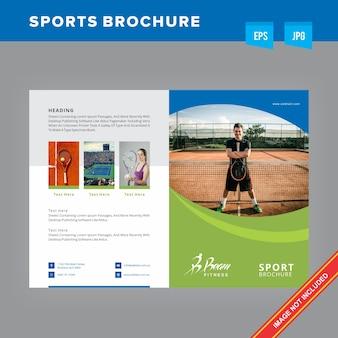 Broszura z grami sportowymi