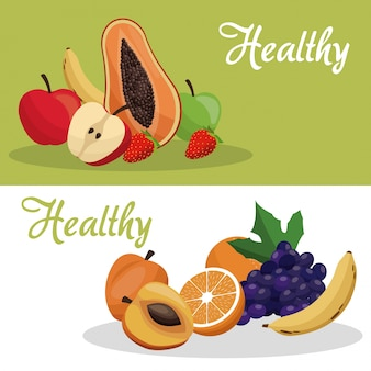 Broszura zdrowej żywności owocowej