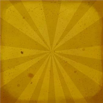 Brown i textured rocznika tło z promieniami