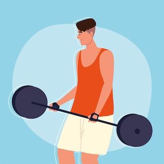 Brzana treningowa dla mężczyzn