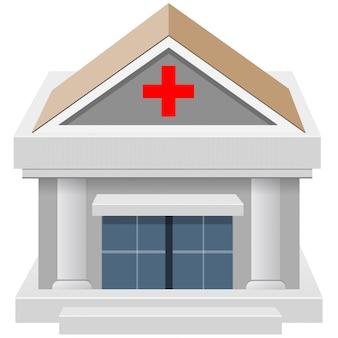 Budowa domu szpitalnego 3d