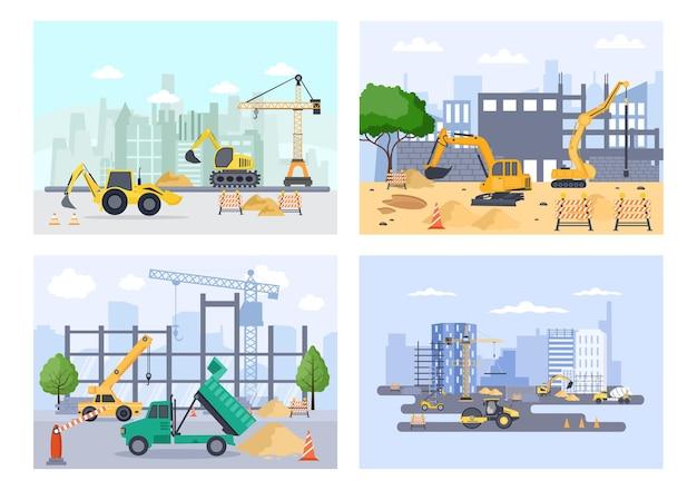Budowa nieruchomości vector