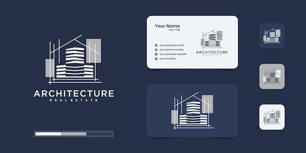 Budownictwo, budowniczy, budownictwo, architektura, inspiracja logo budowy