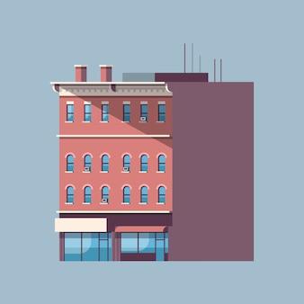 Budynek miasta dom nieruchomości miejskie