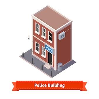 Budynek stacji policyjnej