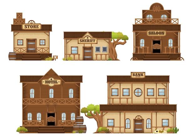 Budynki kowbojskie
