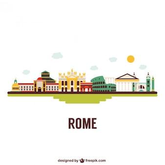 Budynki rzym