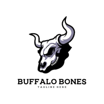 Buffalo bones rib krowa czaszka wołowa