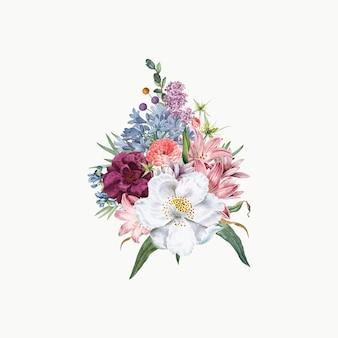 Bukiet kwiatów jaśminu