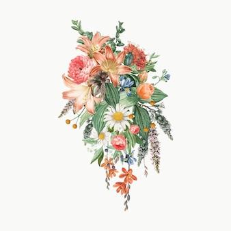 Bukiet kwiatów lilly