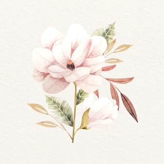 Bukiet kwiatów w stylu vintage