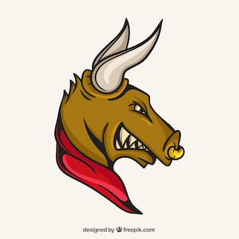 Bull maskotka