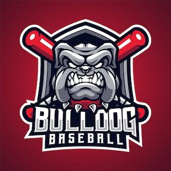 Bulldog baseball maskotka