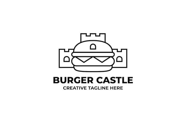 Burger castle logo firmy fastfood
