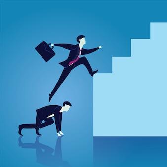 Business teamwork, aby osiągnąć sukces razem