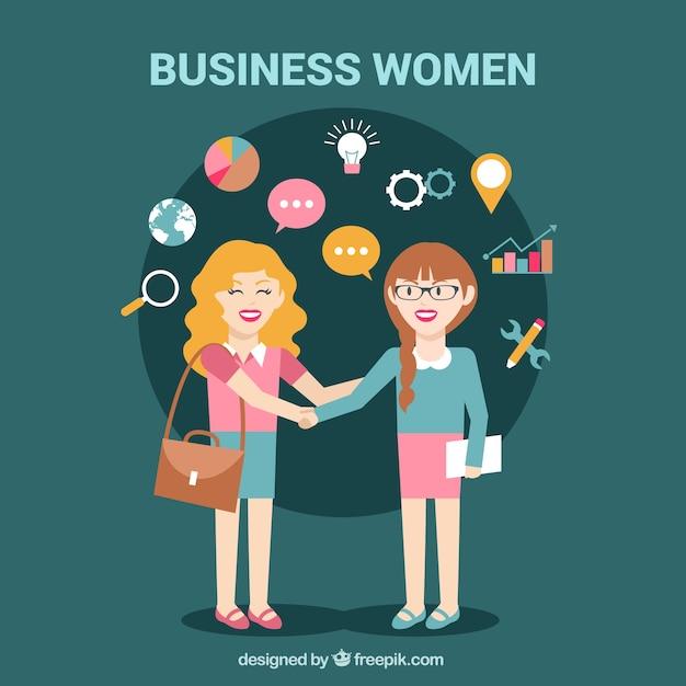 Businesswoman ilustracja