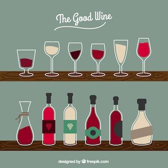 Butelek wina