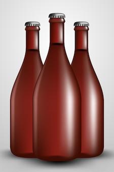 Butelka chmielowa bardzo duża