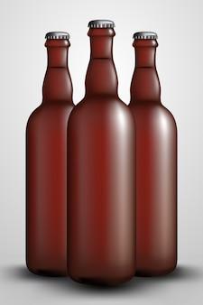 Butelka chmielowa długa
