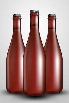 Butelka chmielowa duża