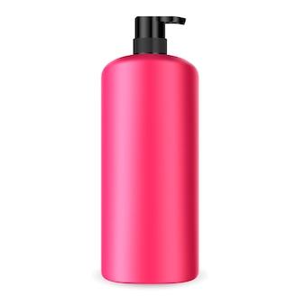 Butelka kosmetyczna z pompką dozującą. pojemnik dozownika