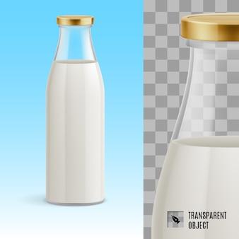 Butelka mleka