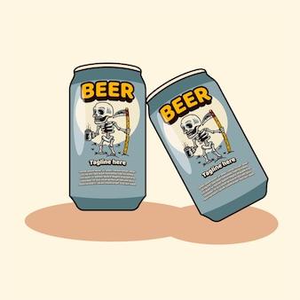 Butelka piwa ikona maskotki październik fest
