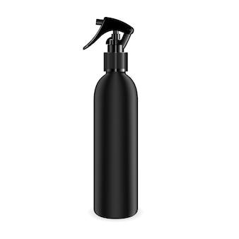 Butelka z rozpylaczem do kosmetyków i innych produktów.