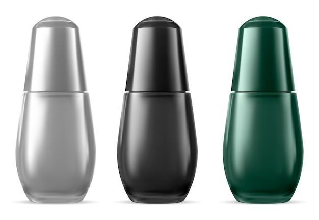 Butelka z surowicą. produkt esencji kosmetycznej do twarzy