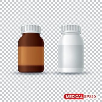 Butelki z lekami