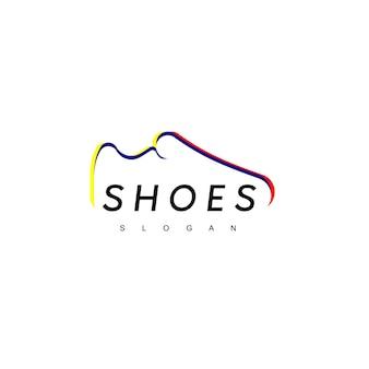 Buty logo design inspiracja