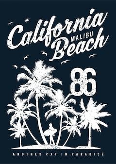 California malibu beach