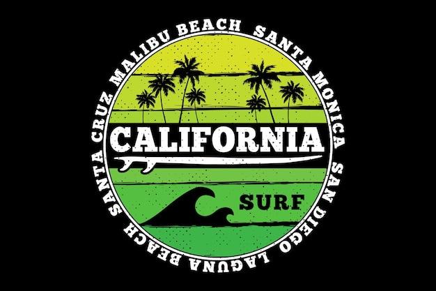California surfować natura plaża lato