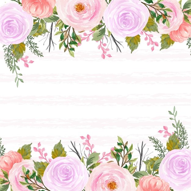 Całkiem czerwone i fioletowe tło rustykalne kwiatu z abstrakcyjną linią