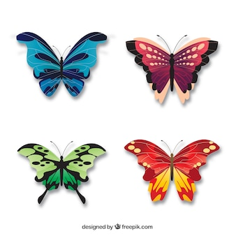 Całkiem eleganckie motyle