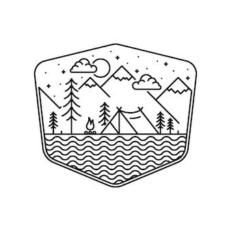 Camping turystyka wspinaczka przygoda z przyrodą