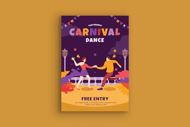 Carnival party dance festival