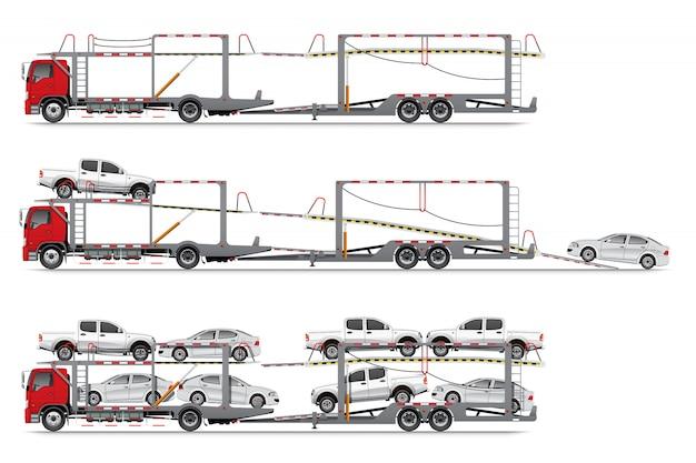 Carrier trailer truck