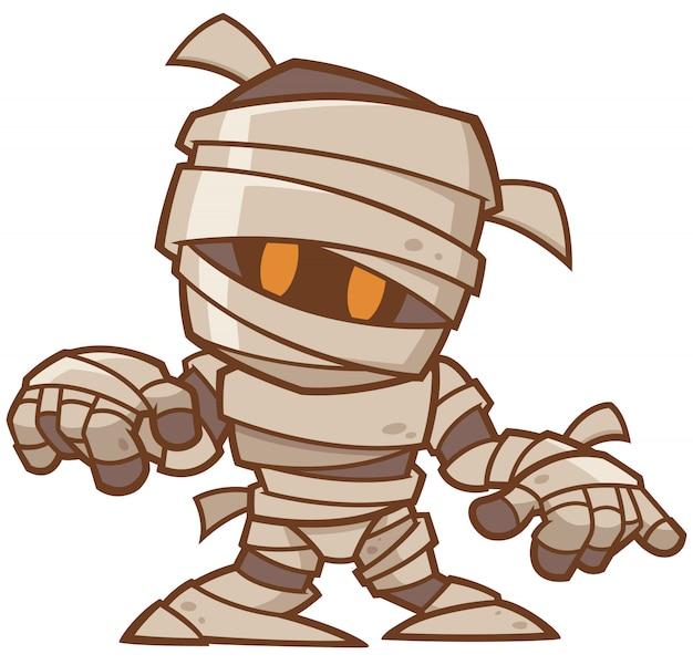 Cartoon mummy