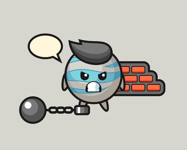 Cartoon planet jako więzień