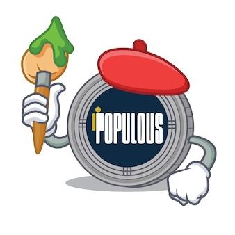 Cartoon populous cartoon character coin